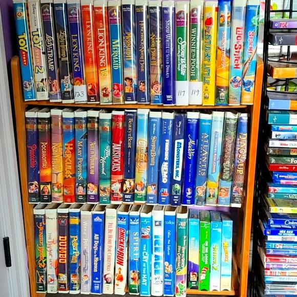 Vintage Disney DreamWorks ++ VHS collection